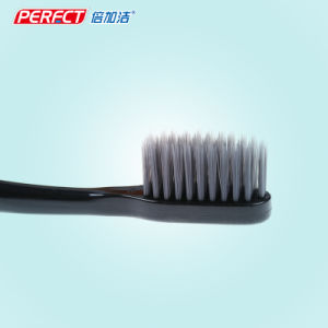 Perfect Black Charcoal Filament Toothbrush pictures & photos