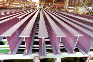 China Laigang Mill Procude H Beams pictures & photos