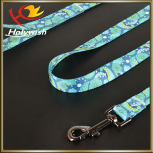 Wholesale Adjustable Retractable Nylon Dog Leash with Print Logo pictures & photos