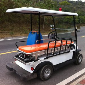 Battery Operated 2 Seater Elctric Ambulance Cart pictures & photos