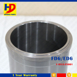 Cylinder Liner Fd6 for Nissan ED6 OEM No. (11012-Z50001) pictures & photos