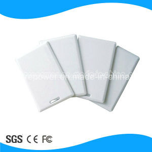 PVC 125kHz Tk4100 ISO Clamshell Blank RFID Card pictures & photos