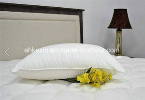 6cm White Duck Feather Bed Pillow pictures & photos