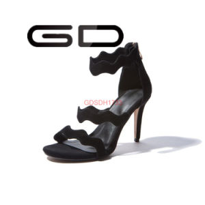 Thin High Heel Factory New Fashion Women Elegant Sandals pictures & photos