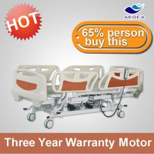 AG-By003c Modern 5 Functions Electric ICU Patient Care Clinic Medical Bed pictures & photos