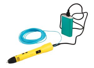 USB 3D Printing Pen Compatible with PLA Filament + 3 Free 1.75mm Filament Refills pictures & photos
