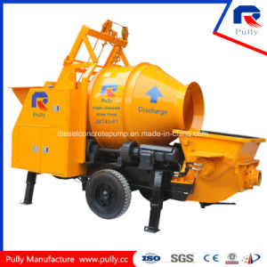 40 M3 Per Hour Pumping out High Efficiency Trailer Concrete Mixer Pump pictures & photos