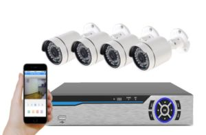 New CCTV System IP Camera with Coaxial Cable pictures & photos