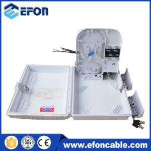 Hot Sale 16 Core Plastic FTTH Outdoor Fiber Optic Terminal Box pictures & photos