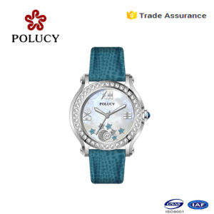 Brand New Design Luxury Casual Women′s Quartz Watch Full Stainless Steel Wrist Watch pictures & photos