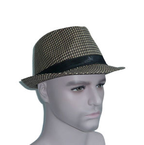 Paper Straw Fashion Fedora Hat pictures & photos