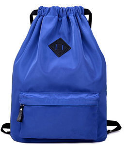 Drawstring Schoo Bag Nylon Travel Bag Simple School Bag pictures & photos