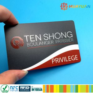 Silk screen printed custom RFID MIFARE DESFire Card for Identity pictures & photos