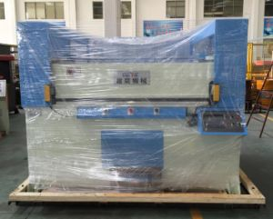 100t Automatic Receding Head Hydraulic Cutting Machine for Packaging pictures & photos