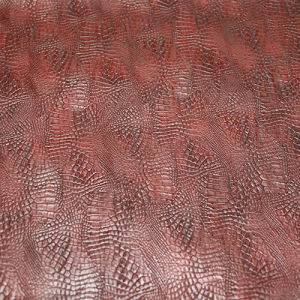 High Quality Softable PU PVC Upholstery Leather for Shoes (E6085) pictures & photos