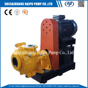 Mineral Processing Neoprene Slurry Pumping Machine (6/4 D-AHR) pictures & photos