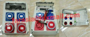 Waterproof Industrial Plug Socket Enclosure Distribution Box pictures & photos