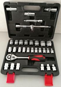 "32PCS Professional -1/2""Dr Socket Tool Set (FY1432B1) pictures & photos"