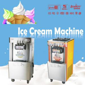 Air Pump Buffet Restaurant Big Capacity 110 Volt Soft Serve Ice Cream Machines pictures & photos
