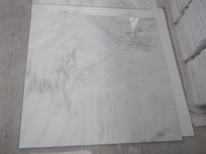 Statuary/Oriental White Marle Slab for Floor/Wall Tile Countertops pictures & photos
