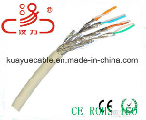 LAN Cable Cat7 Sf/FTP Braid and Foil Over Shielded Twisted Pair/ Communication Cable/ Connector/ pictures & photos