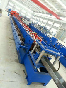 Galvanized Highway Safety Barrier Roll Forming Machine pictures & photos
