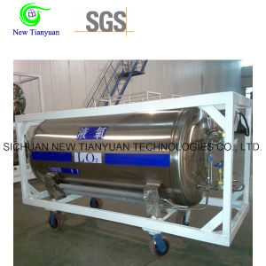 Liquid Oxygen 455L Volume Dewar Cryogenic Cylinder pictures & photos