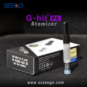 Colorful Portable Slim G-Hit PE Atomizer for Cbd E-Liquid with Different Colors pictures & photos