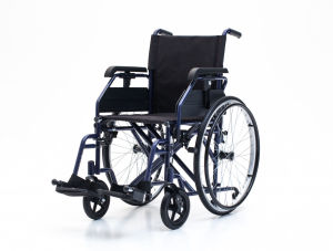 Steel Manual, Height Adjustable Armrest, Wheelchair, for Elderly People (YJ-028) pictures & photos