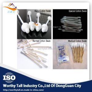 Wt Cotton Swab Making and Packaging Machine with Drying pictures & photos