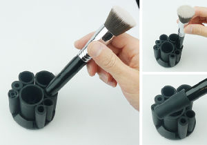 Professional Oval Toothbrush Makeup Brush Set 8PCS for Gift pictures & photos