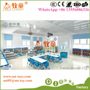 2017 New Design Kids Preschool Furniture Tables and Chairs Set pictures & photos