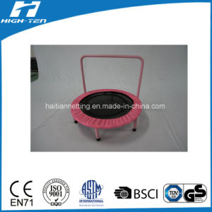 Mini Non-Spring Trampoline with Handlebar pictures & photos
