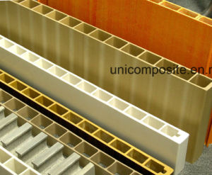 Anti-Corrosion UV Resistant Fiberglass Pultrusion Hollow Decking pictures & photos