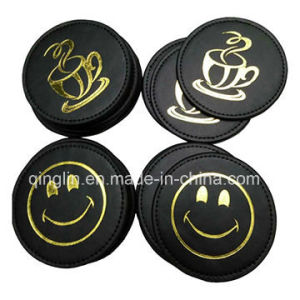 Promotion Gift Deluxe Leather Coffee Cup Coasters pictures & photos