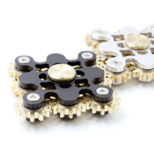 9 Gears Design Unique Metal Hand Finger Spinners Metal Gears Fidget Spinners pictures & photos