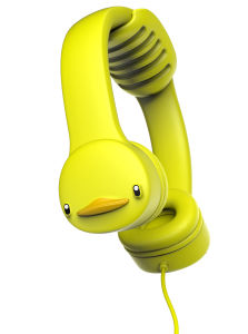 Duck EVA Wired BPA-Free Kids Headphones (OG-K102) pictures & photos