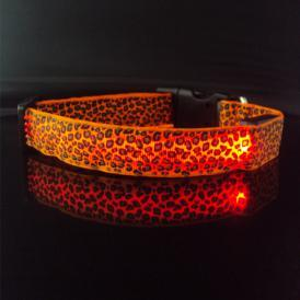 Cheaper, Promotion Lepoard LED Collar pictures & photos