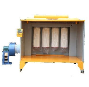 Factory Price Manual Batch Powder Coating Spray Booth pictures & photos