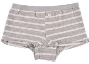 Girl′s Cotton Spandex Briefs pictures & photos