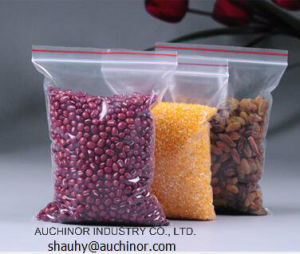 Clear Food Grade LDPE Reclosable Resealable Ziplock Mini-Grip Poly Bag pictures & photos