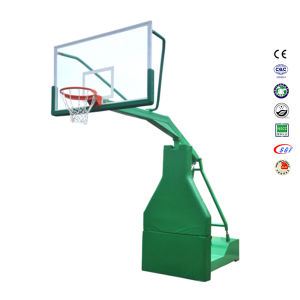 Outside Movable Steel Base Portable Basketball Goal pictures & photos