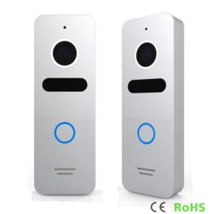 7 Inches Home Security Interphone Video Door Phone with Memory pictures & photos
