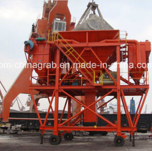 30, 50, 100 Cbm Mobile Hopper for Bulk Cargo pictures & photos