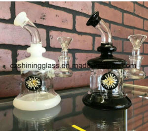 Marble Decoration Fancy Glass Water Pipes for Tabacco Smoking pictures & photos