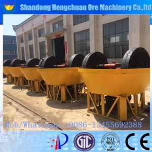 Wet Grinding Gold Machine, Mercury Stone Grinding Mill, Wet Pan Mill pictures & photos