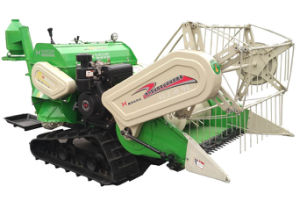 Ride on Mini Harvester / Ride on Crawler Harvester pictures & photos