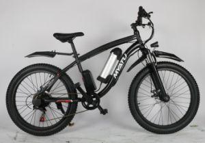 Aluminum Alloy Frame Beach Cruiser Electric Bike 4.0tire pictures & photos