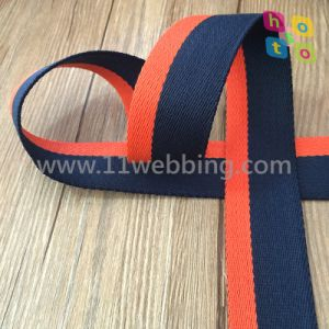 Binary Colour Cotton Webbing for Bag Accessories Shoulder Strap pictures & photos