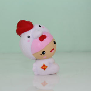 New Arrival White Chick Model Squishy PU Children Toy pictures & photos